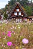historyczna idzie shirakawa wioska Obraz Royalty Free