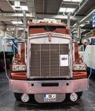 Historyczna Kenworth ciężarówka T 800 od 1983 Zdjęcia Royalty Free