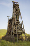 Historyczna kopalnia złota w zwycięzcy Colorado Obraz Stock