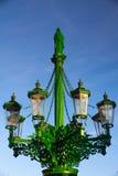 historyczna lampowa ulica Obrazy Royalty Free
