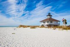 Historyczna latarnia morska w Floryda Obrazy Royalty Free