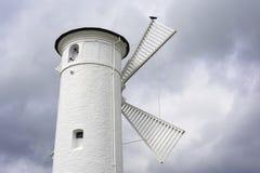 Historyczna latarnia morska w Swinoujscie, Poland Obraz Stock