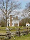 Historyczna Latta plantacja, Pólnocna Karolina Fotografia Royalty Free