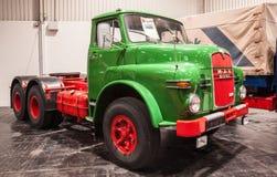 Historyczna mężczyzna oleju napędowego ciężarówka od 1968 Obrazy Stock