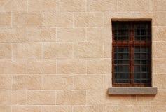 historyczna okno zdjęcie stock