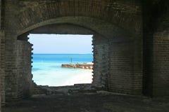 historyczna okno Zdjęcia Stock