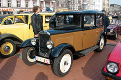 Historyczna pojazd parada obrazy royalty free