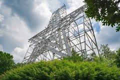 Historyczna Roanoke gwiazda, Roanoke, Virginia, usa zdjęcie stock