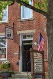 Historyczna Roscoe wioska, Coshocton Ohio zdjęcie royalty free