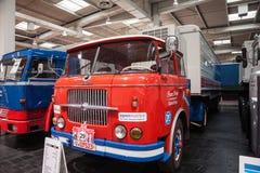 Historyczna SKODA ciężarówka S 706 RT od 1967 Obraz Royalty Free