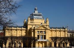 Historyczna sztuka pawilonu galeria muzealny Zagreb Chorwacja Zdjęcia Royalty Free