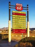 Historyczna trasa 66, usa obraz stock