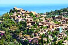 Historyczna wioska Deia na wyspie Majorca Zdjęcia Stock