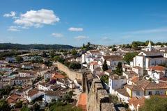 Historyczna wioska, Obidos zdjęcia royalty free