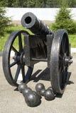 historyczne armaty Fotografia Stock