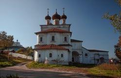 historyczne budynków Gorokhovets Vladimir region Przy końcówką Wrzesień 2015 Obraz Stock