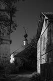 historyczne budynków Gorokhovets Vladimir region Przy końcówką Wrzesień 2015 Zdjęcia Stock