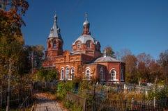 historyczne budynków Gorokhovets Vladimir region Przy końcówką Wrzesień 2015 Obrazy Stock