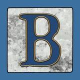 Historyczne Ikonowe Klasyczne Nowy Orlean płytek chodniczka listu abecadła Grunge Uliczne liczby & symbole zdjęcia royalty free