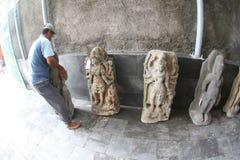 Historyczne kamienne statuy Fotografia Royalty Free