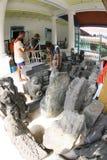 Historyczne kamienne statuy Zdjęcia Royalty Free
