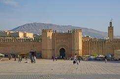 Historyczne miasto ściany Fes Obraz Stock