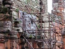 Historyczne ruiny Mini San Ignacio, w Argentyna mieście San Ig Obraz Royalty Free