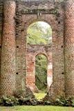 Historyczne Sheldon kościół ruiny w Charleston, Południowa Karolina fotografia royalty free