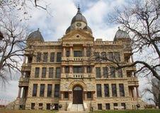 Denton okręg administracyjny gmach sądu Zdjęcia Stock
