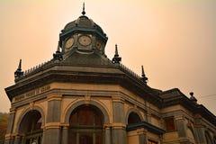 Historycznego budynku xvi wiek sztuka w wioska zdroju zdjęcie royalty free