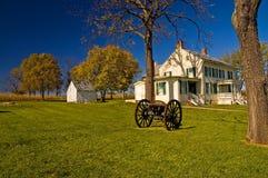 historycznej homestead wojny domowej Fotografia Stock