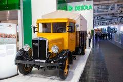 Historycznej niemiec ciężarowy Bussing NAG od 1931 Fotografia Royalty Free