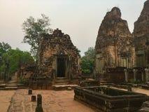 historycznej struktury Khmer kultura Kambodża Obraz Stock