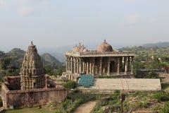 historycznej struktury neelkanth mahadev świątynia, kumbhalgarh fort zdjęcia royalty free