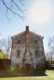 Historyczni budynki Allaire wioska obrazy royalty free