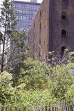 Historyczni budynki DUMBO Zdjęcia Royalty Free