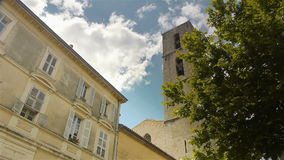 Historyczni budynki Grasse, Cote D'Azur Francja zbiory