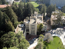 Historyczni budynki UC Berkley kampus Fotografia Stock