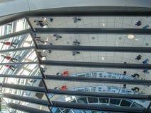 Historyczni budynki w Berlin: reichstag - Niemiecki parlament obraz stock