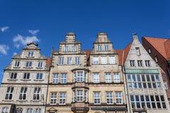 Historyczni budynki w Bremen, Niemcy Obrazy Royalty Free