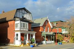 Historyczni budynki w Ottawa, Kanada Obraz Royalty Free