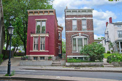historyczni domy Kentucky usa Fotografia Royalty Free