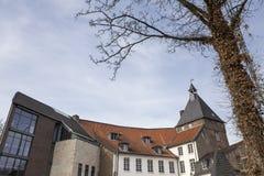 Historyczni grodowi moers Germany Obrazy Royalty Free