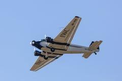 Historyczni junkiery Ju 52 zdjęcie stock