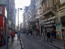 Historyczni & Nowożytni budynki Sisli Istanbuł & sklepy zdjęcie royalty free