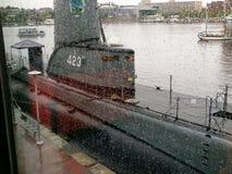 Historyczni statki w Baltimore zdjęcie royalty free