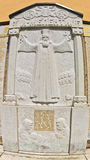 Historyczni szczegóły na RaÄ  monaster izoluje o powstaniu przeciw Osmańskiemu imperium Obraz Stock