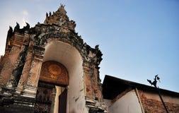 Historyczny świątynny Tajlandia Zdjęcie Royalty Free
