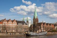 Historyczny żeglowanie statek w Bremen, Niemcy Obraz Stock
