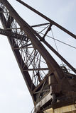 Historyczny żuraw III fotografia stock